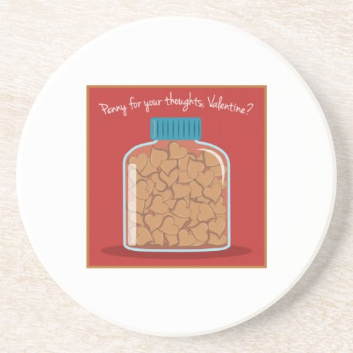 Penny For Your Thoughts Coasters