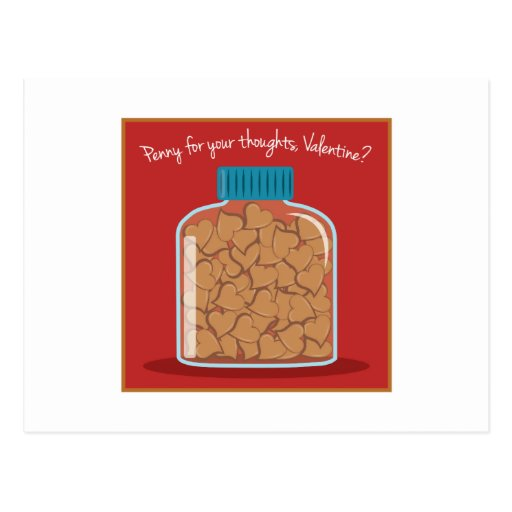 Penny For Your Thoughts Postcards