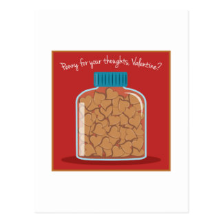 Penny For Your Thoughts Post Cards