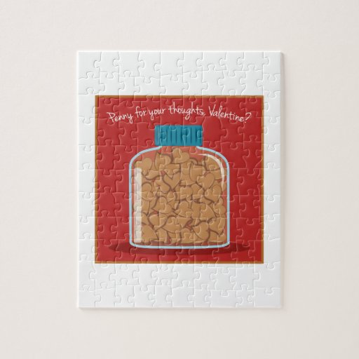Penny For Your Thoughts Jigsaw Puzzles