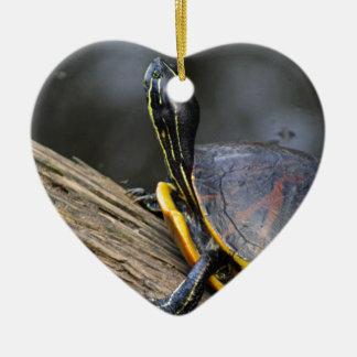 Penny II Ceramic Heart Decoration