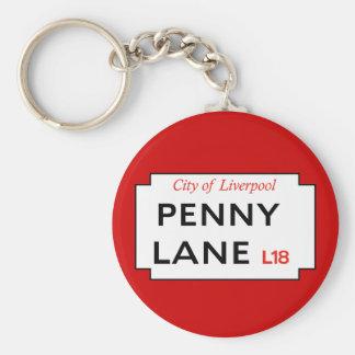 Penny Lane Key Ring
