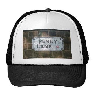Penny Lane Street Sign, Liverpool UK Mesh Hats