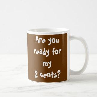 Penny Coffee Mugs