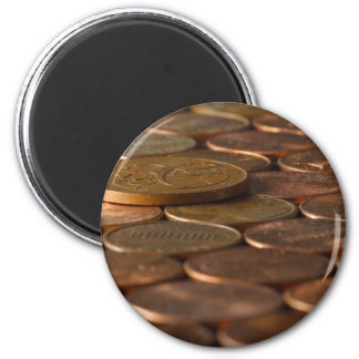 Penny Pennies Coins Money Fridge Magnets