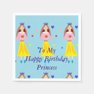 Penny Princess To My Happy Birthday Princess Disposable Napkin