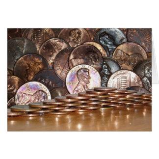 Penny Pyramid card