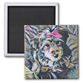 Penny the Yorkipoo Magnet