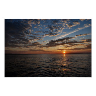 Penobscot Bay Sunset poster - 1
