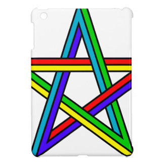 Penrose_pentagram iPad Mini Cases