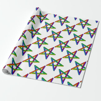 Penrose_pentagram Wrapping Paper