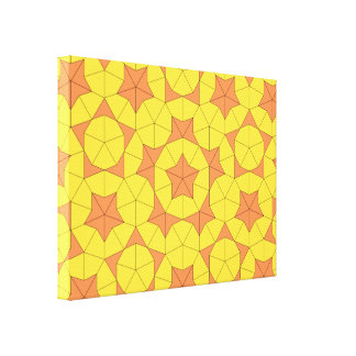 Penrose Sun Tile Canvas