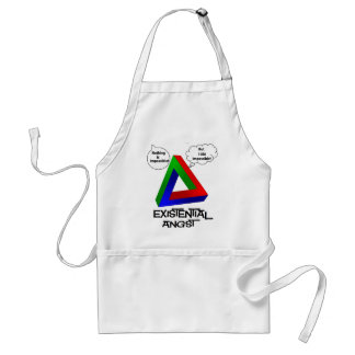 Penrose Triangle - Nothing is Impossible Aprons