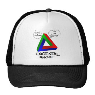 Penrose Triangle - Nothing is Impossible Hat