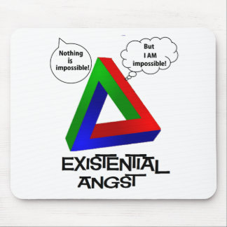 Penrose Triangle - Nothing is Impossible Mouse Pads