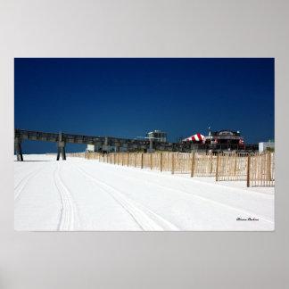 Pensacola Beach, Blaine Perkins Poster