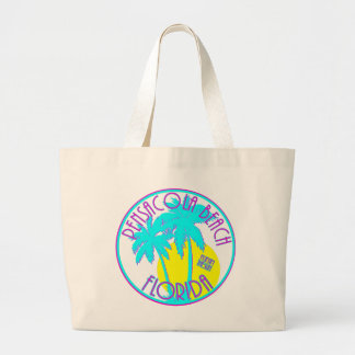 Pensacola Beach Florida Jumbo Tote Bag