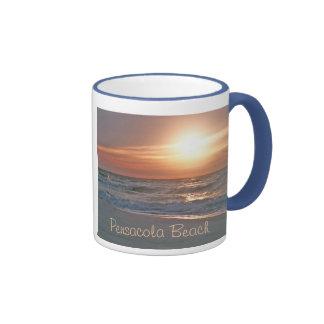Pensacola Beach Ringer Mug