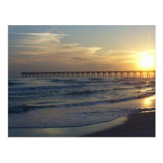 Pensacola Beach Pier Postcard