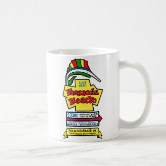 Pensacola Beach Sign Coffee Mug