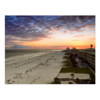 Pensacola Beach Sunset Postcard