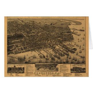 Pensacola Florida (1885) Card