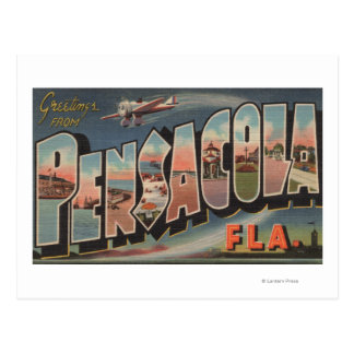 Pensacola, Florida (Airplanes) Postcard