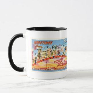 Pensacola Florida FL Old Vintage Travel Souvenir Mug