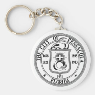 Pensacola Seal Key Ring
