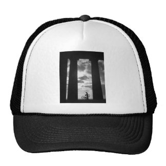 Penshaw Monument with Bicycle  Hat
