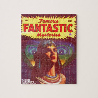 Pensive Egyptian Queen Jigsaw Puzzle