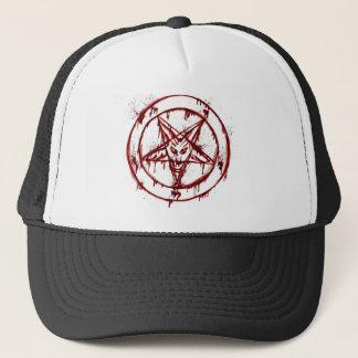 penta mark ``skull´´ trucker hat