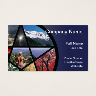 Collage business cards akbaeenw collage business cards reheart Images
