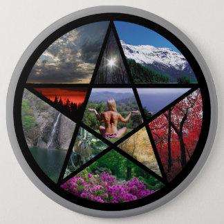 Pentacle Collagebutton 6 Cm Round Badge