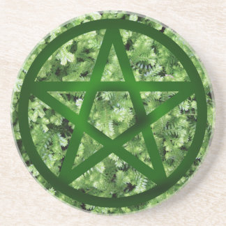 Pentacle - Earth Drink Coasters
