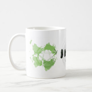 Pentacle Earth Sacred Geometry Tourmaline Mug