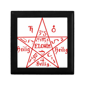 Pentacle_from_the_Sixth_Book_of_Moses Gift Box