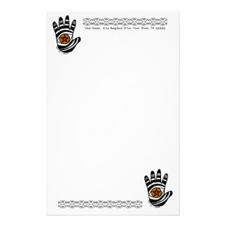 Pentacle Hand Stationery