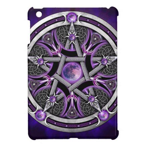 Pentacle Of The Purple Moon iPad Mini Cover