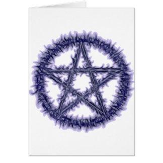 Pentacle of Water Card