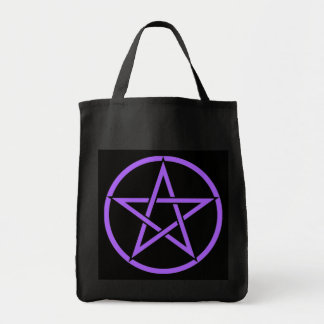 Pentacle Pentagram Tote Bag by Cheeky Witch