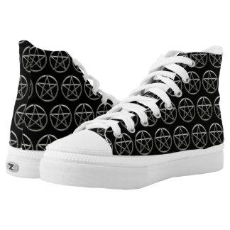 Pentacle Pentagram Wicca Shoes