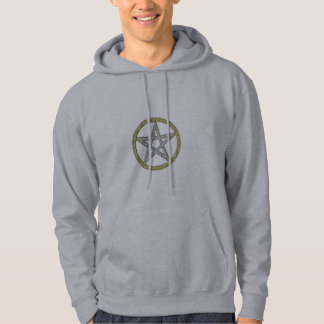 Pentacle Pentagram Witch Magic Hooded T-Shirt