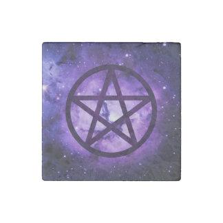 Pentacle - Spirit Stone Magnet