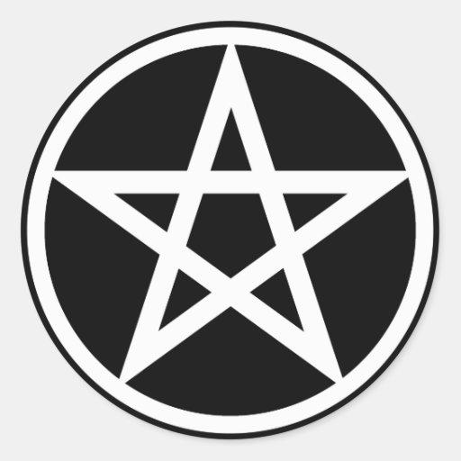 Pentacle sticker