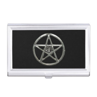 Pentacle Tree Of Life Business Card Holder