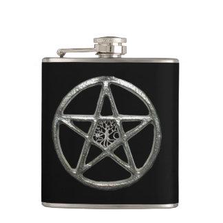 Pentacle Tree Of Life Flask