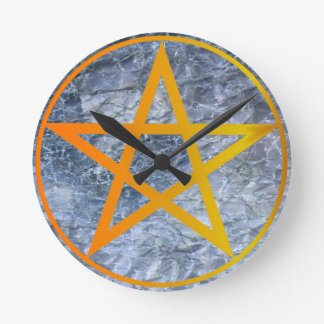 Pentacle Wall Clock