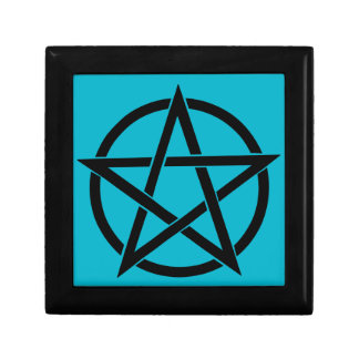 Pentagram - Air color Small Square Gift Box