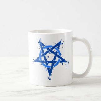 Pentagram Blue Coffee Mug